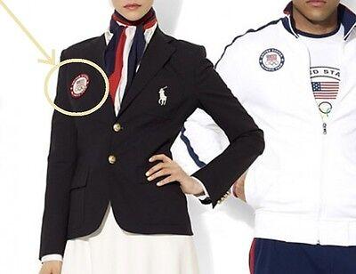Kostüm USA Olympisch Team Insignia : wie auf USA Team Kleid Jacke (Veicrô)