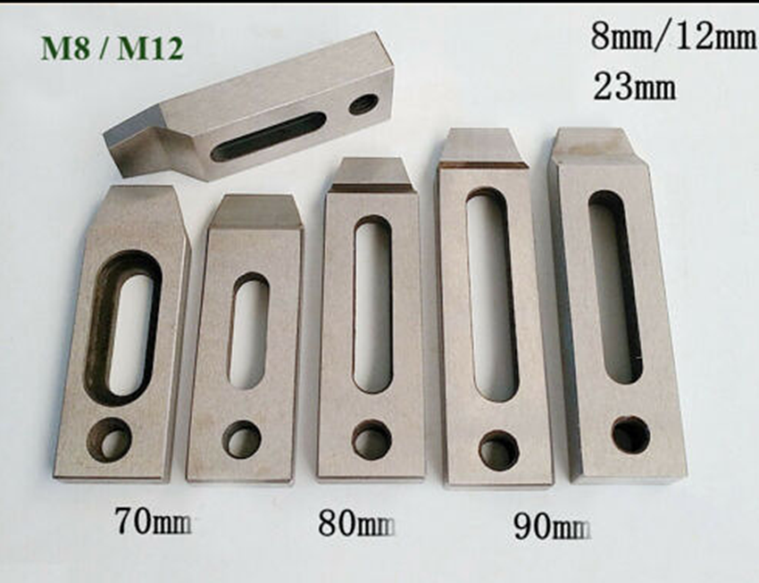 Wire EDM Stainless Jig Holder For Clamping 90 x 22 x 12 mm M8 Screw Part