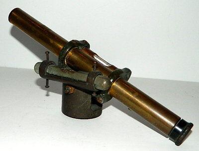 Unmarked Antique Small Surveyor's Scope / Level