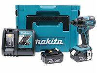 Makita DTD129RMJ. Impact driver with 2x18v 4ah batteries and charger, BRAND NEW, UNOPENED.