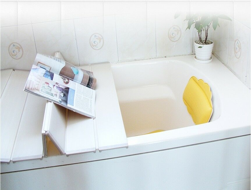 SHABATH SPA Bathtub Cover Shutter Lid White Keep warm /& clean 70x120cm Wellbeing