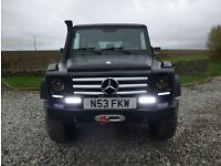 MERCEDES-BENZ G-320 LEFT HAND DRIVE