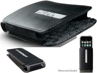 Iphone 3g Holster - Belkin Slim iPhone 4s iPhone 4 & iPhone 3G S Leather Holster Case w/Clip - Black