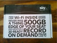 SKY PLUS + HD BOX WIFI - 500GB £35