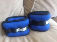 Ankle & wrist weights x 2 (Domyos, Decathlon France): £6 for the pair