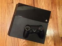 unboxed ps4 with 4 top games and 1 controller