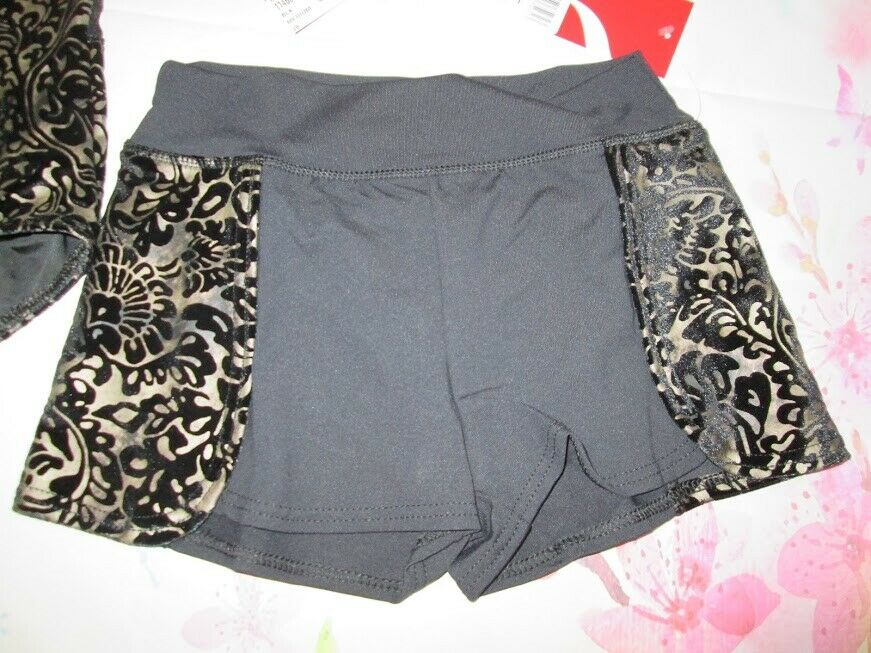 NEW MC 7-8 Shorts for leotard Capezio Dance Gymnastics Lot B