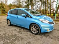 NISSAN NOTE 2014 TEKNA 1.5 DCI - LOW 7,200 MILES - FRESH MOT - FREE ROAD TAX - WARRANTY AVAILABLE