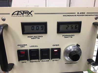 Mks Astex S250c S250 Microwave Power Generator 4 Mo Warranty