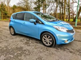 NISSAN NOTE 2014 TEKNA 1.5 DCI - LOW 7,500 MILES - FREE ROAD TAX - WARRANTY AVAILABLE