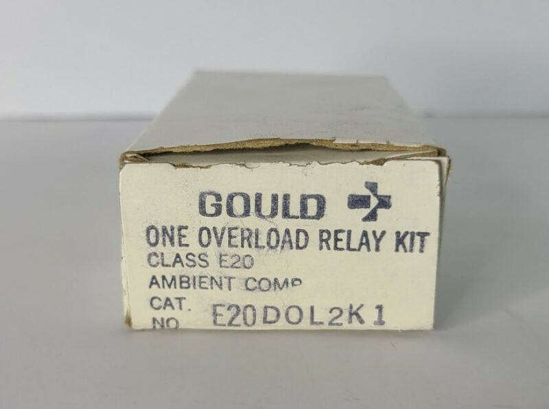 Gould Overload Relay Kit E20DOL2K1