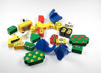 LEGO Duplo diversi stampati Pietre Animali Zoo Figura Albero stampa