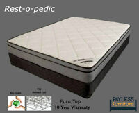 NEW Mattress! ★ Euro Top / H.D Foam / Pocket spring ★ Can Delive