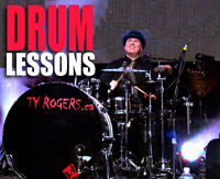 DRUM SET LESSONS from Ty Rogers (St. James area)