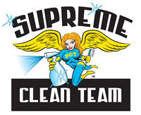 SUPREME CLEAN TEAM - PROFESSIONAL, RELIABLE, TRUSTWORTHY!