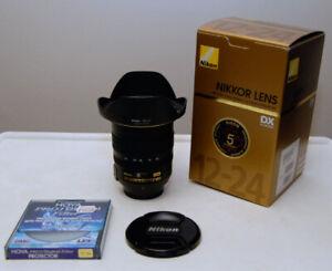 Nikon Nikkor 12-24mm F4.0 IF-ED w/ Filter
