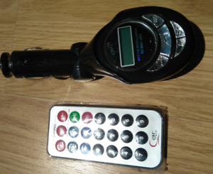 Wireless Car FM Transmitter with remote