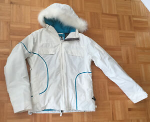 Roxy Snowboarding Jacket + Section Pants w/suspenders