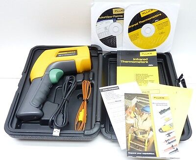 Fluke 568 Ir Handheld Thermometer Infrared With Lcd Display Free Shipping