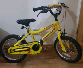Kids spider bike like new age 3-5
