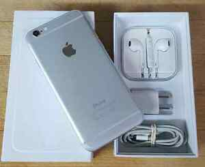Iphone 6  64gb  Silver with Fido ** LIKE NEW ** PICK UP ASAP **