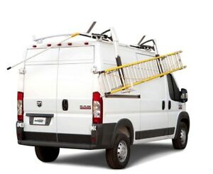 Promaster drop down ladder rack
