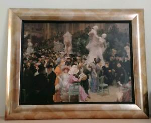 Cadre reproduction d'une toile : Salon de Paris