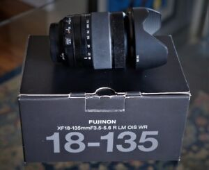 Reduced Like new 18-135 Fuji Lens