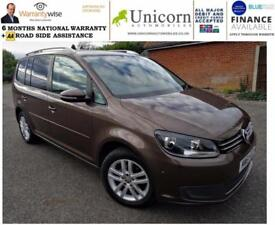 2012 Volkswagen Touran 1.6TDI ( 105ps ) DSG SE WILL PRACTICALLY PARK IT SELF