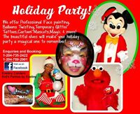Most Recommended BEST Children's Party Mascot /FREE Balloons