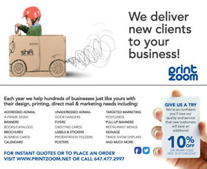 PRINTING - Great Prices, Top Quality, Fast Service