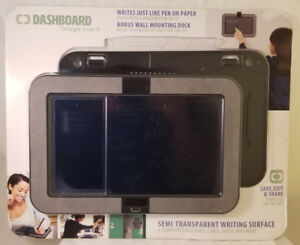 "Boogie Board Dashboard 10"" E-Writer W/Wall Mount and Templates"