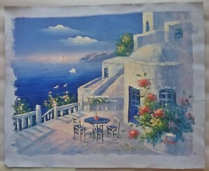 Original Oil Painting from Greece