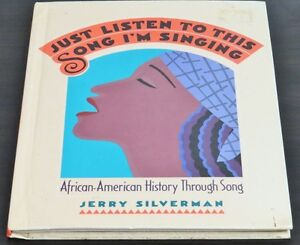 African-American History Through Song by Jerry Silverman (Hardco