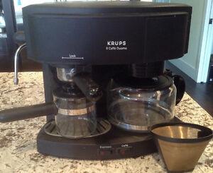 Krups espresso/coffee combo maker