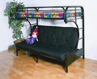 BRAND NEW IN BOX BUNK BED AND FUTON