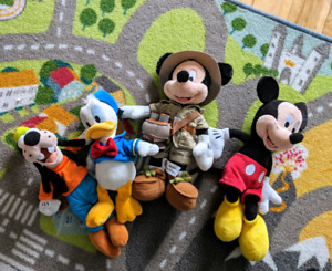 Mickey Mouse, Donald Duck and Goofy
