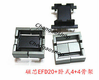 5set Efd20 44pins Ferrite Cores Bobbintransformer Coreinductor Coil Q2235 Zx