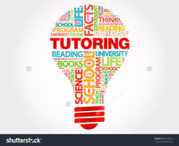 Tutor available for Math & Science