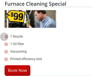 Furnace Cleaning  special!!!