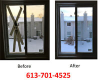 FOGGY/BROKEN GLASS 613-701-4525 FOR FAST AND BEST SERVICE