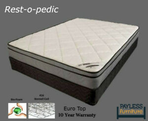 NEW Mattress! ★ Pillow Top / Euro Top ★ Can Deliver