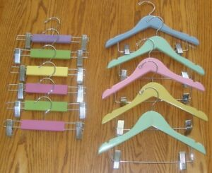 TODDLER SIZE WOODEN HANGERS