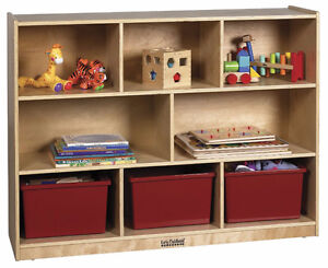 ECR4Kids – 8 Compartment Storage Cabinet *NEW*