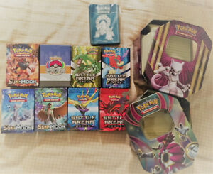 Pokemon Theme and Battle Arena Decks (Opened)
