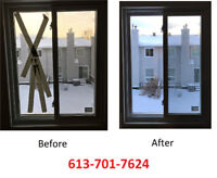 FOGGY/BROKEN GLASS 613-701-7624 FOR FAST AND BEST SERVICE