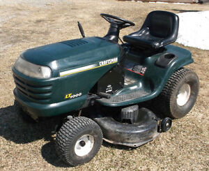 Sears riding mower for sale