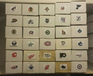 NHL TEAM LOTS - 50 cards. Includes jersey Card. You pick team!
