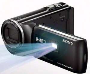 Sony HDR-PJ220 Camcorder with built in projector.