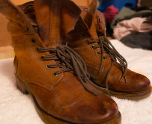 BEAUTIFUL A.S. 98 HANDMADE LEATHER BOOTS. LOW PRICE QUICK SALE